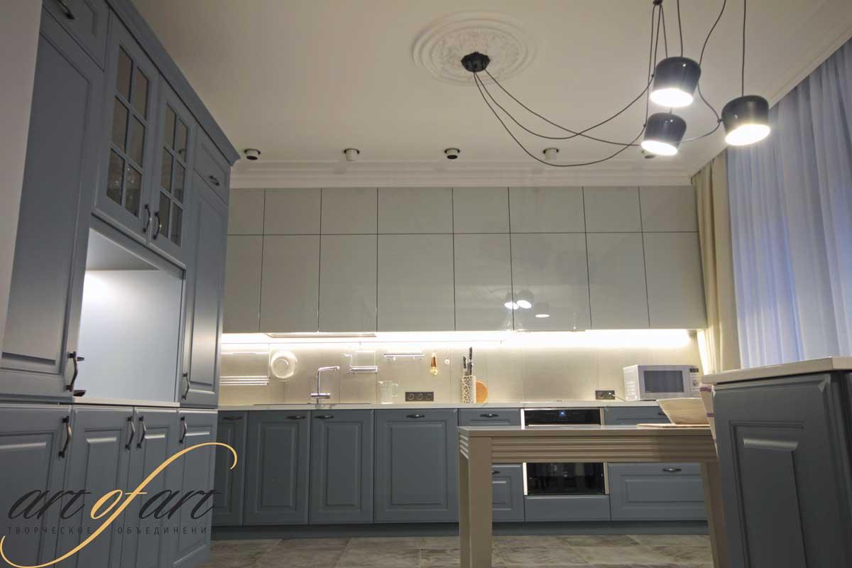 Ремонт по дизайн проекту квартиры в ЖК  Доминион. Фото