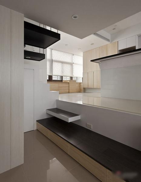 чёрно-белый дизайн интерьера