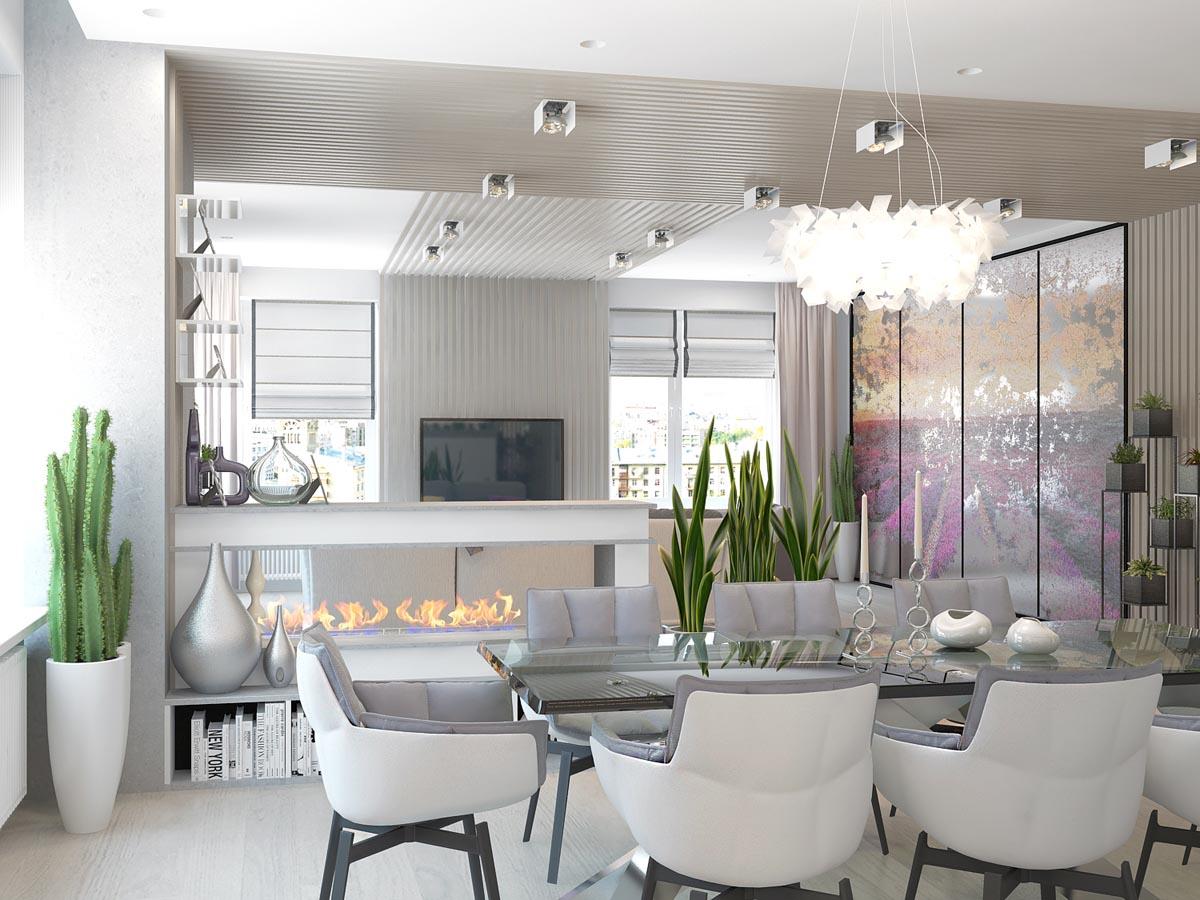 Дизайн интерьера в апарт-комплексе «Волга»