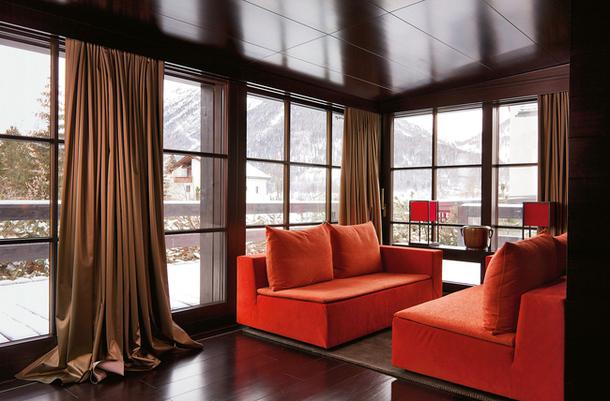 Дизайн интерьера шале