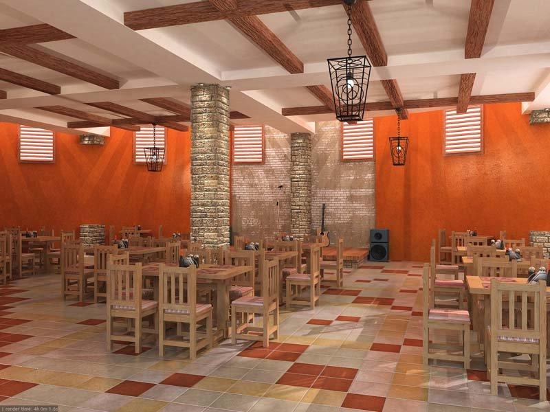 Дизайн ресторана «EL INKA»