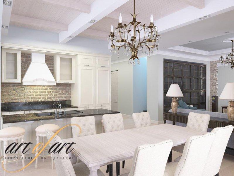 Дизайн интерьера частного дома в п. Бристоль