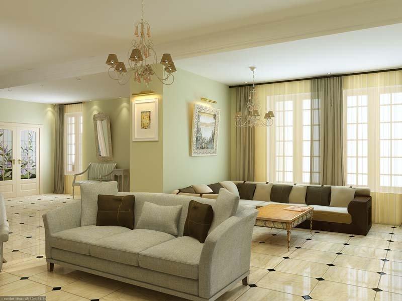 Дизайн интерьера. Частный дом в п. Никульское