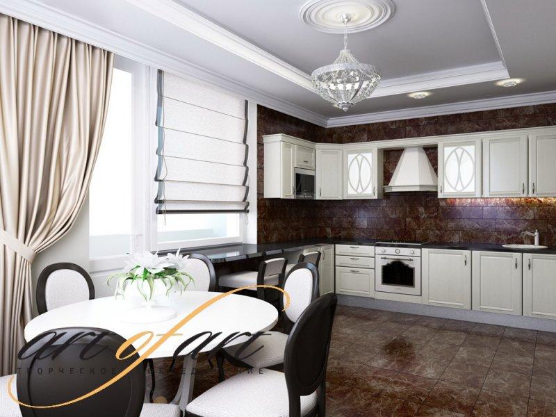 Дизайн интерьера - Квартира ул. Александра Невского
