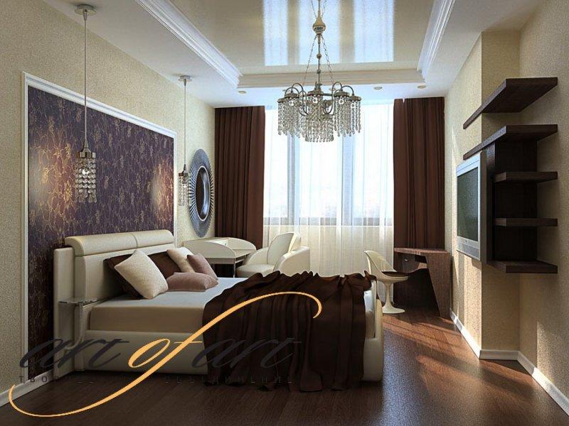 Дизайн интерьера квартиры в ЖК «Белая Дача»