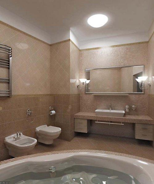 Дизайн интерьера квартиры 185 кв.м., Динамо